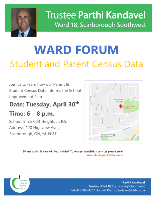 Ward Forum Flyer Census Data April 30