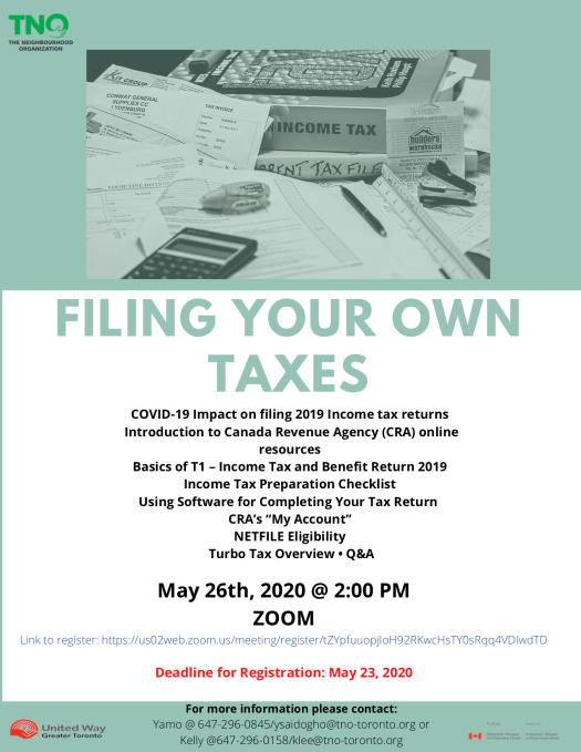 Filing Your Own Taxes