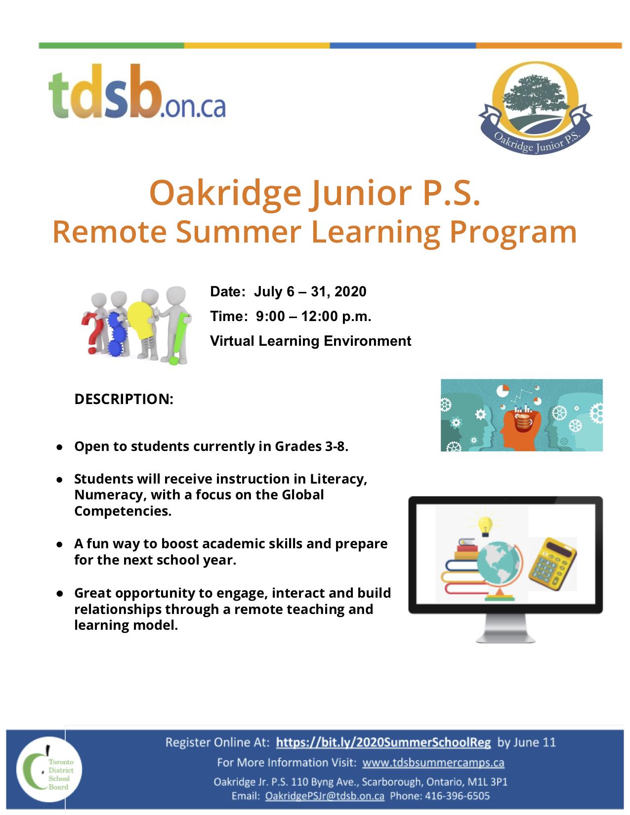 Oakridge Remote Summer School 2020 Flyer[1]
