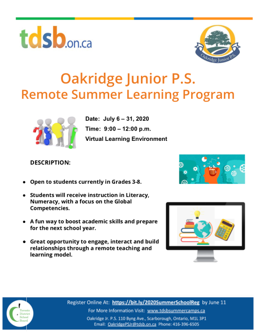 Oakridge Remote Summer School 2020 Flyer[1]