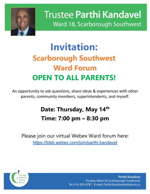 Ward Forum May 2020