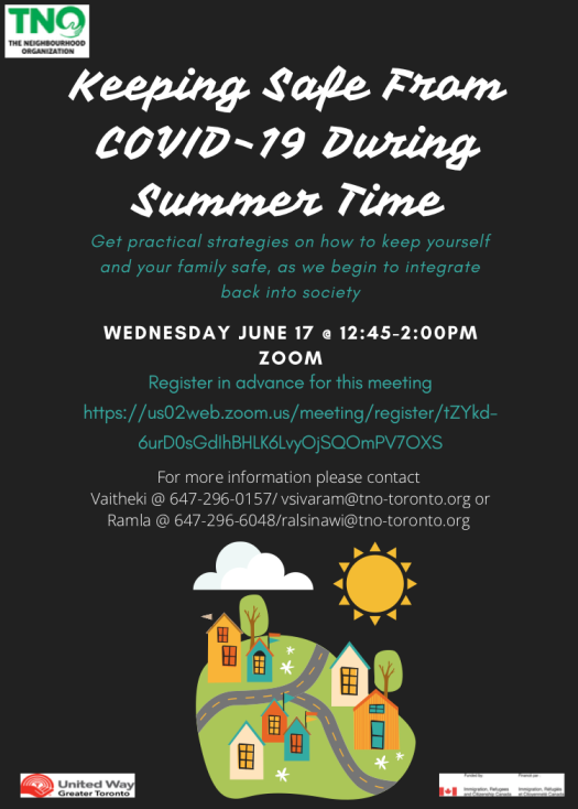Keeping safe from COVID During Summer Time