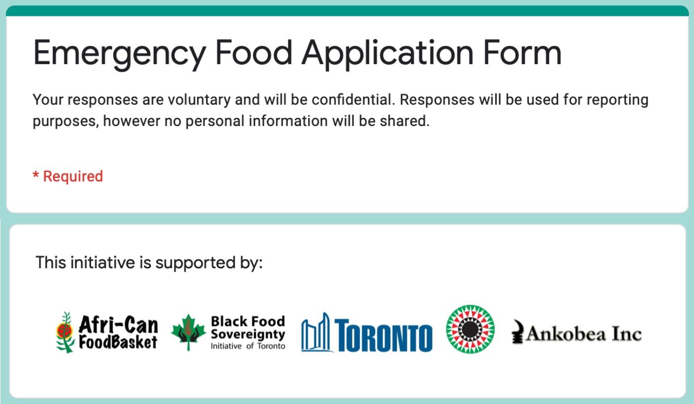 Food Application