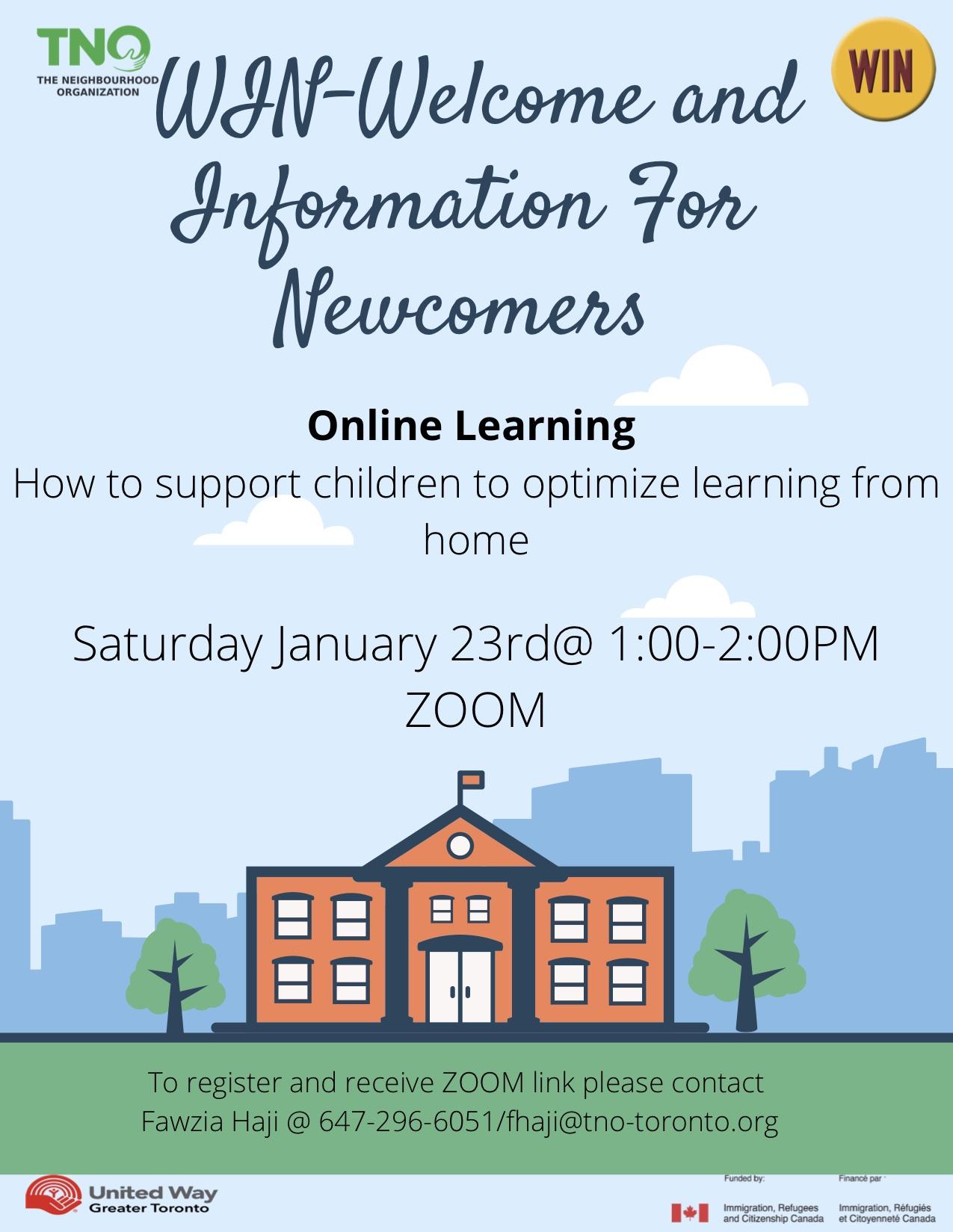 WIN - online learning